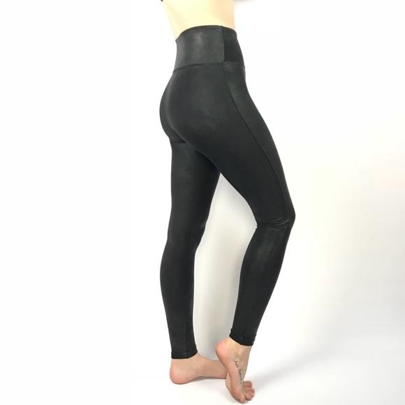 d48a8675e525 Spanx high rise faux leather legging pants. M 5b4162dc45c8b309e40aab42